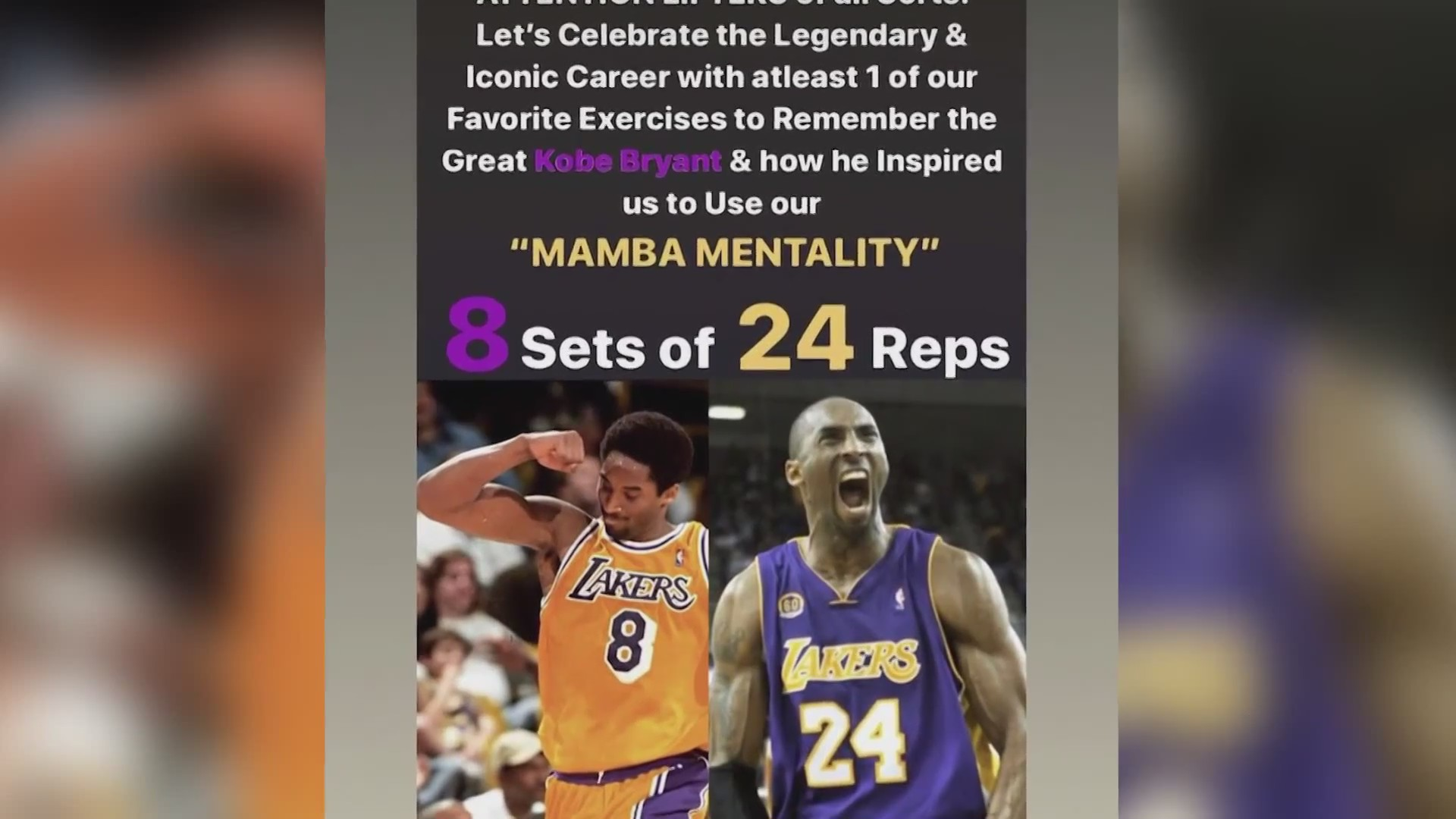 Local Gym Creates Mamba Mentality Workout Challenge In Honor Of Late Kobe Bryant Krqe News 13