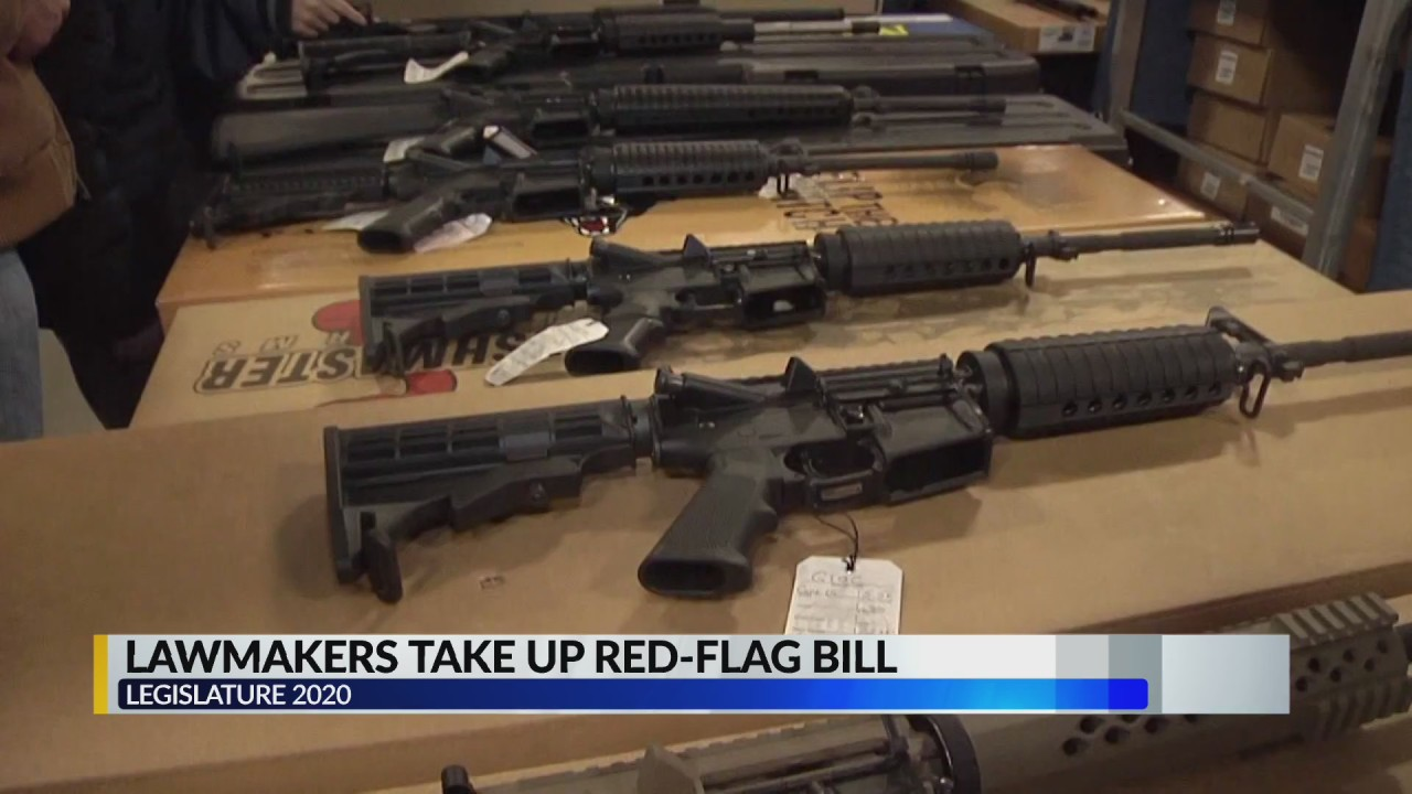 'Red flag' gun bill moves forward after passing Senate committee