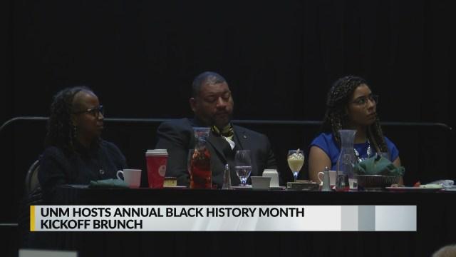 UNM host Black History Month kickoff