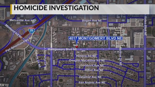 Police investigate homicide in northeast Albuquerque
