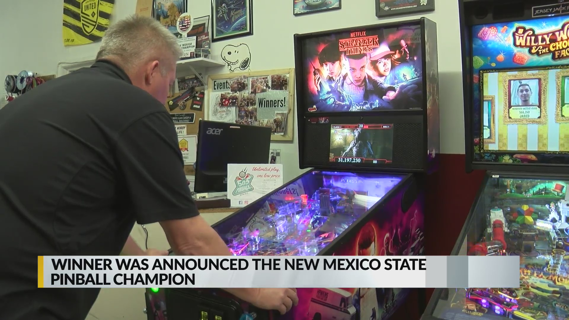 New Mexico pinball champ crowned in Rio Rancho