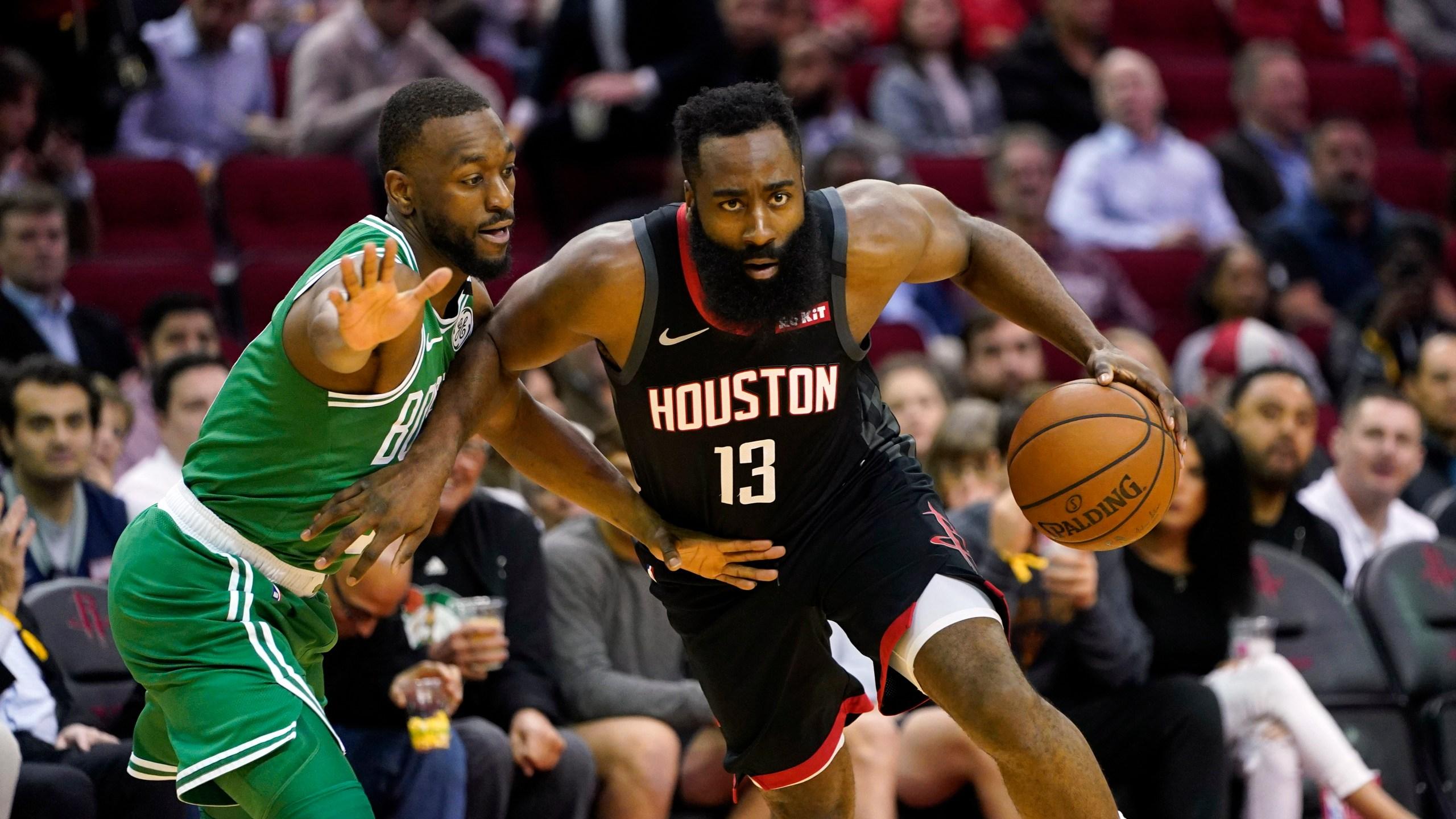 Harden Westbrook Help Rockets Beat Celtics 116 105 Krqe News 13