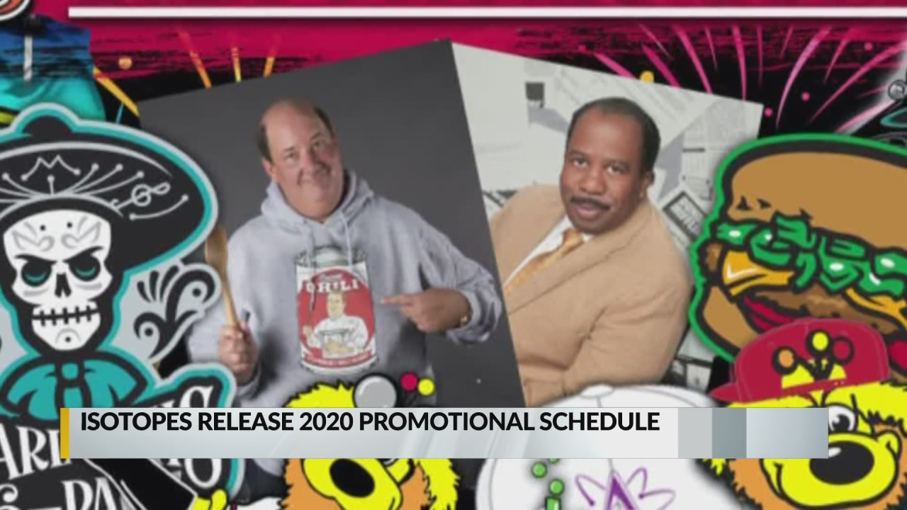 Isotopes release 2020 promotional schedule