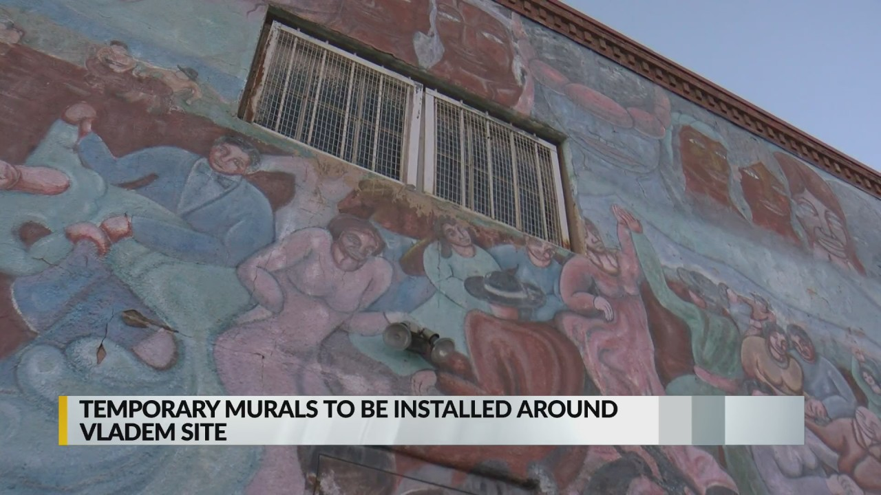 Temporary murals to be installed around Vladem site in Santa Fe