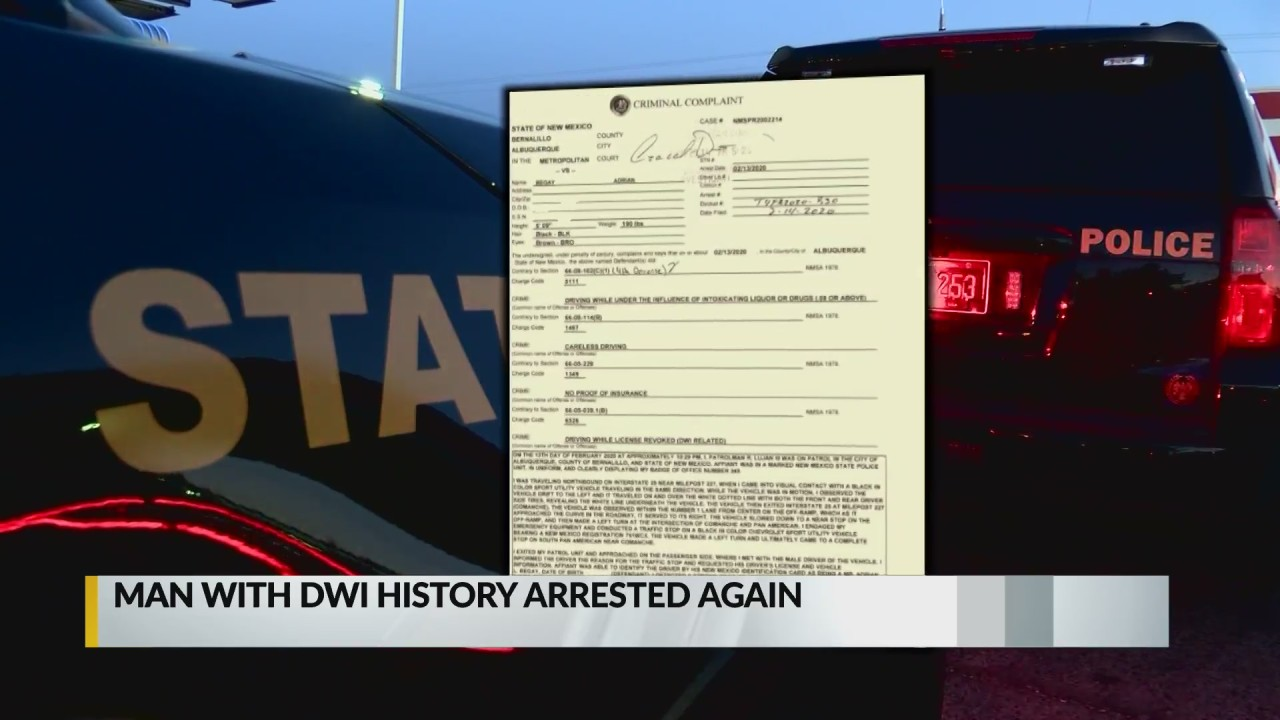 Repeat DWI offender has day in court