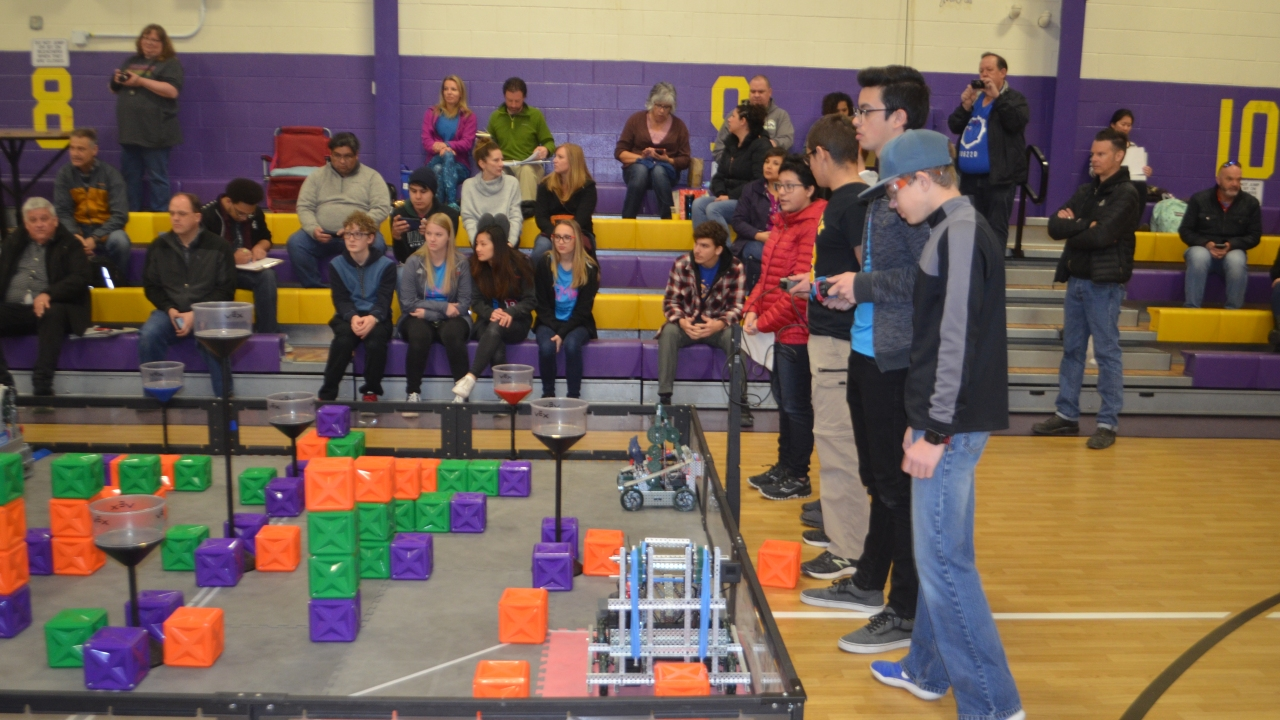 Student teams to compete at upcoming VEX Robotics Competition
