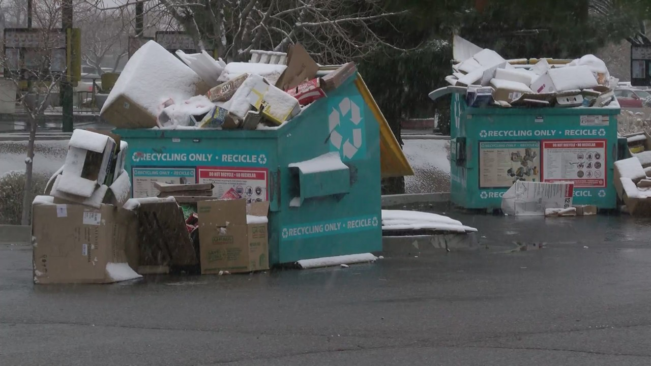 Roswell Recycling Center >> East Albuquerque neighbors fed up with messy recycling ...