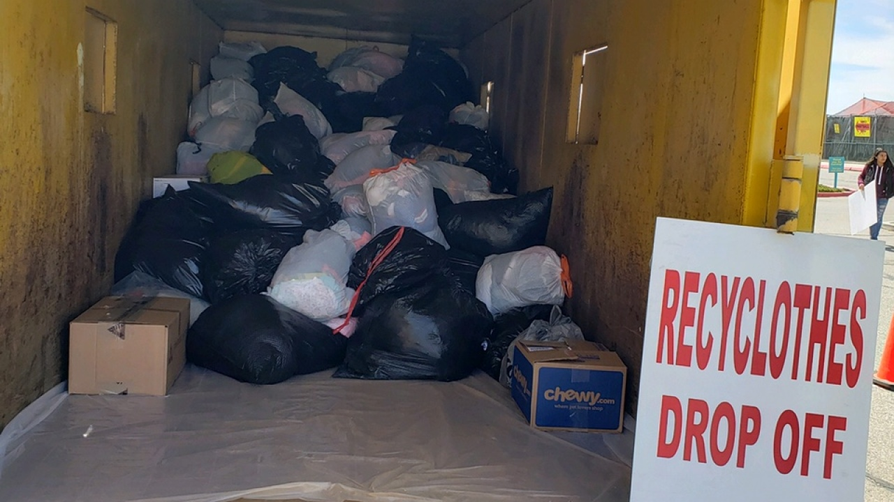 Donate clean, gently used clothing to Albuquerque students in need during Recyclothes event