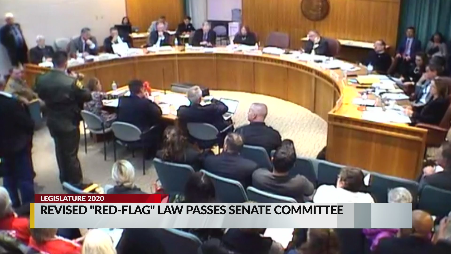 Scaled down red-flag bill heads to New Mexico Senate vote