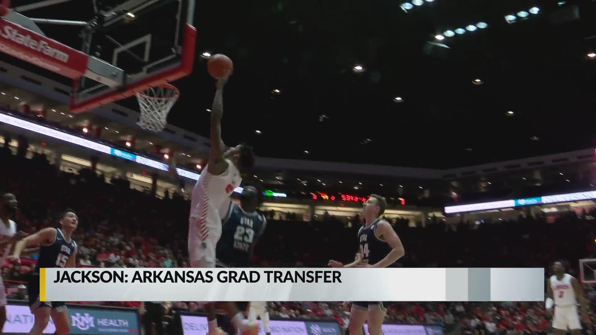 Sports Desk Former Lobo Vance Jackson Transfers To Arkansas