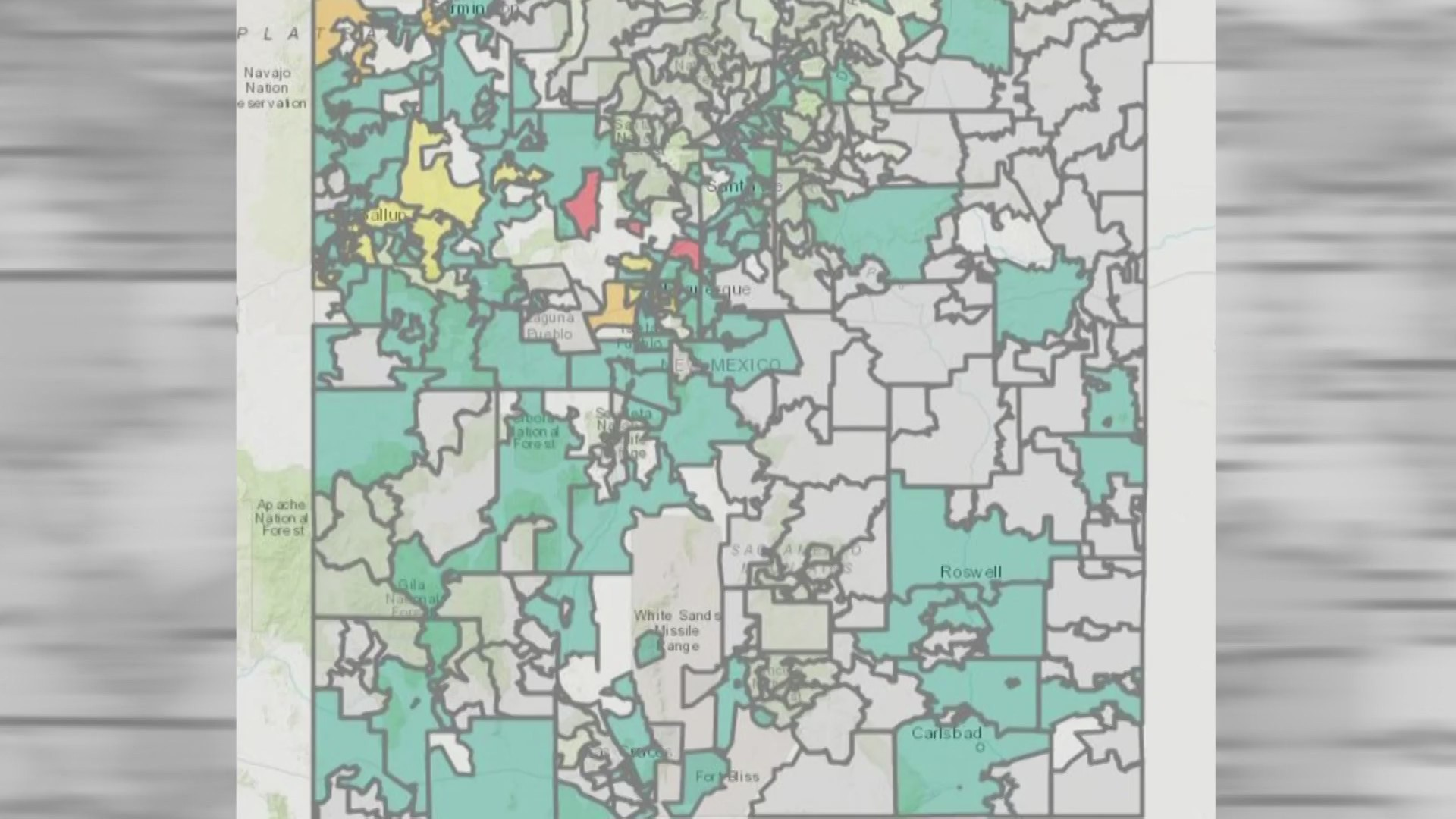 New Mexico S New Data Dashboard Reveals Covid 19 Cases By Zip Code