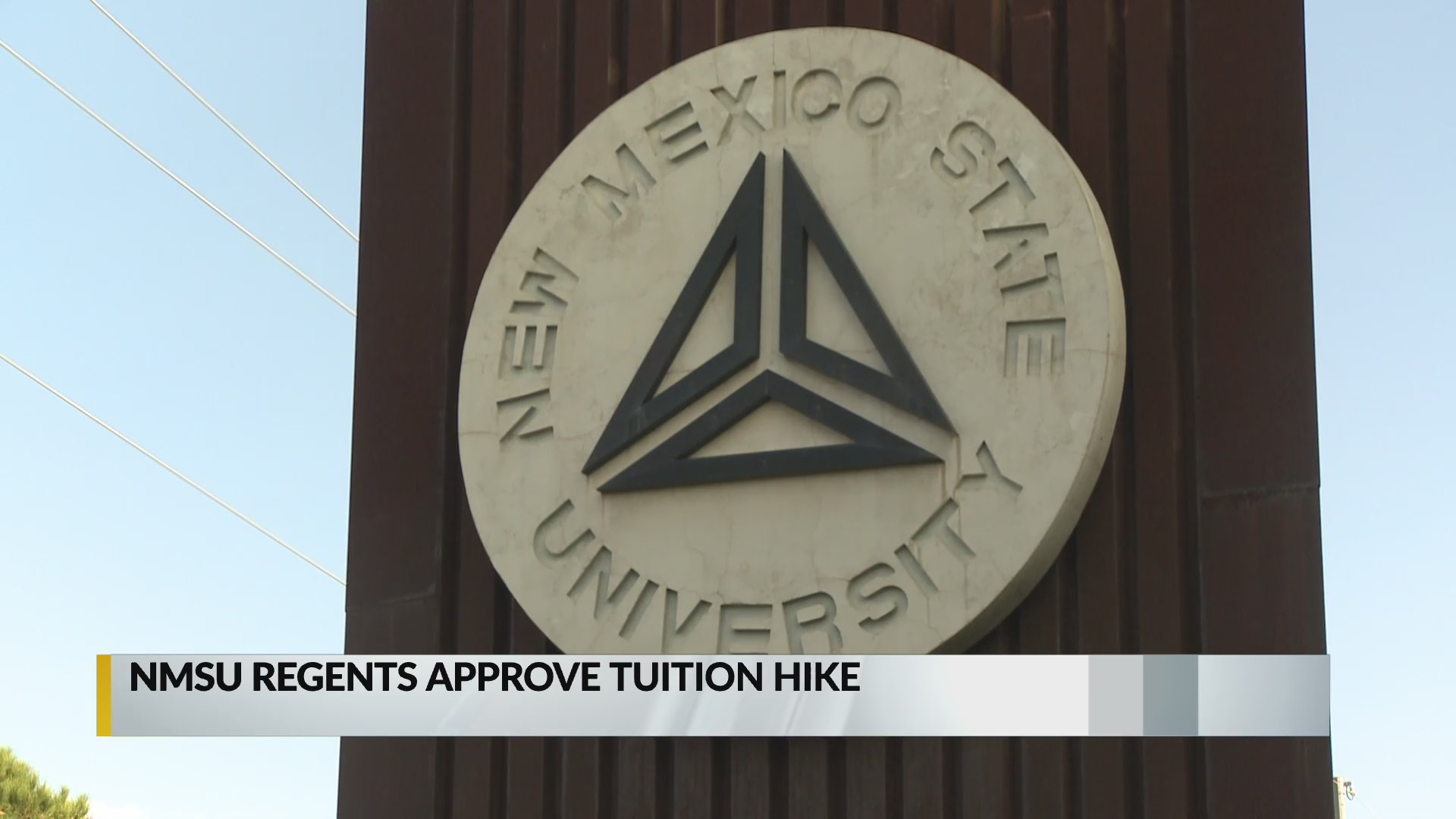 Nmsu Regents Approve Tuition Hike Krqe News 13