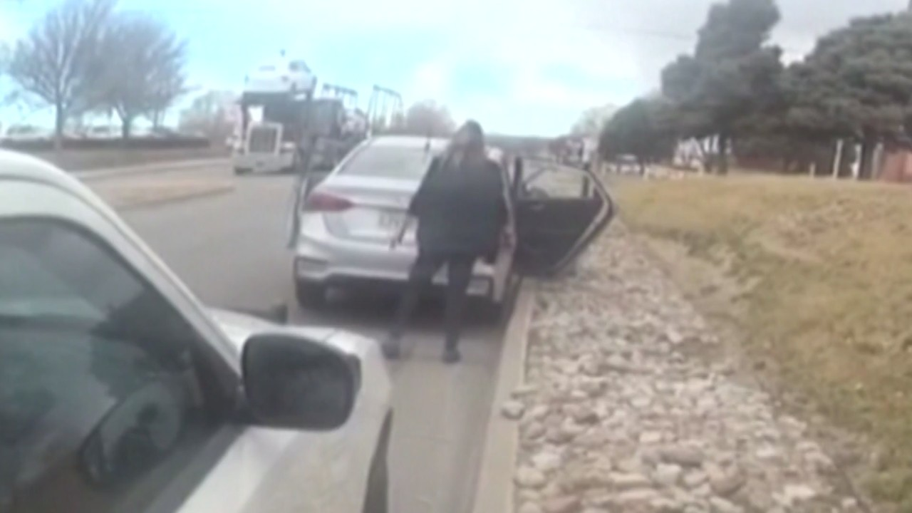 VIDEO: Woman admits to keeping rental car