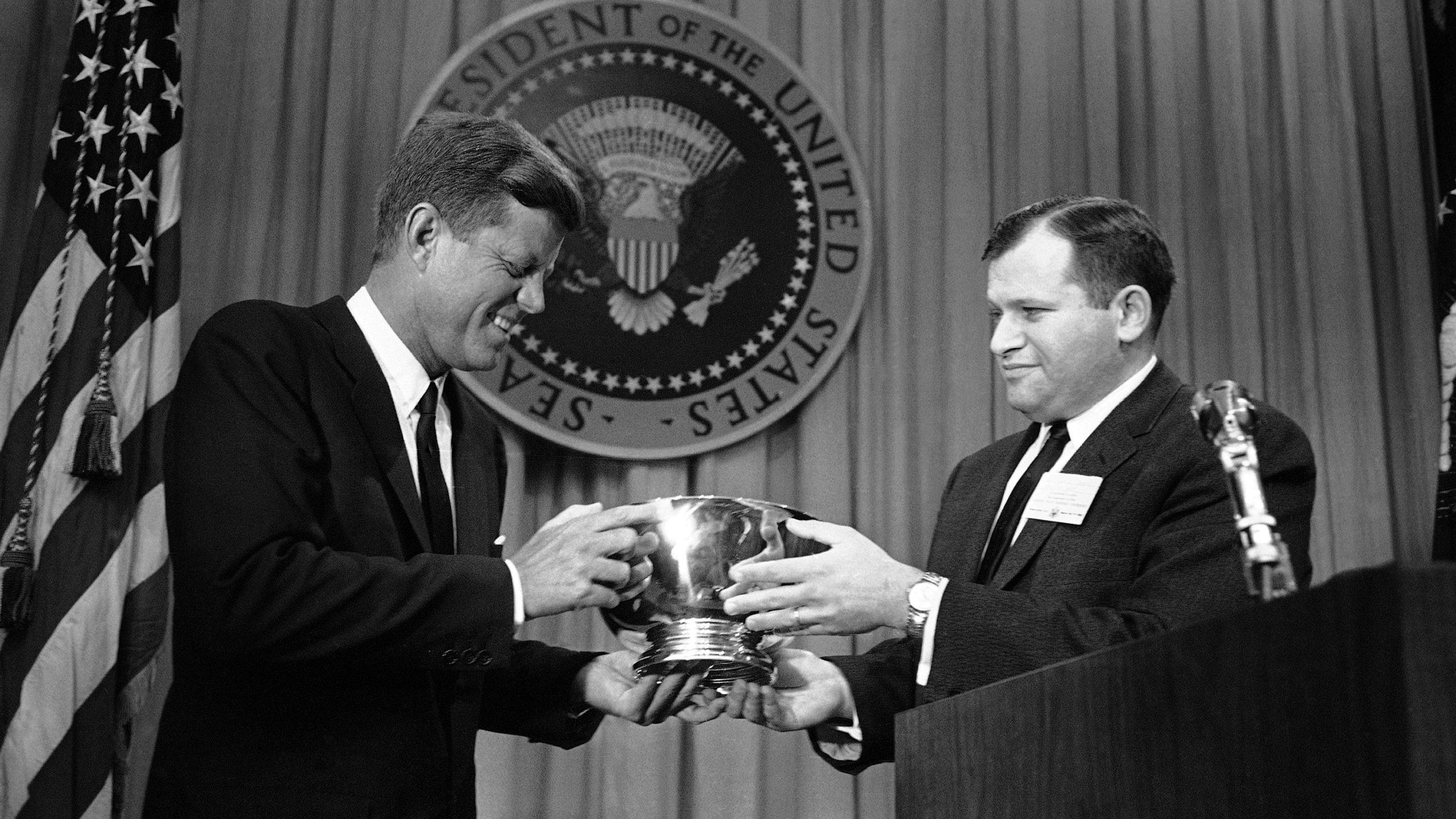 John F. Kennedy, William J. Small