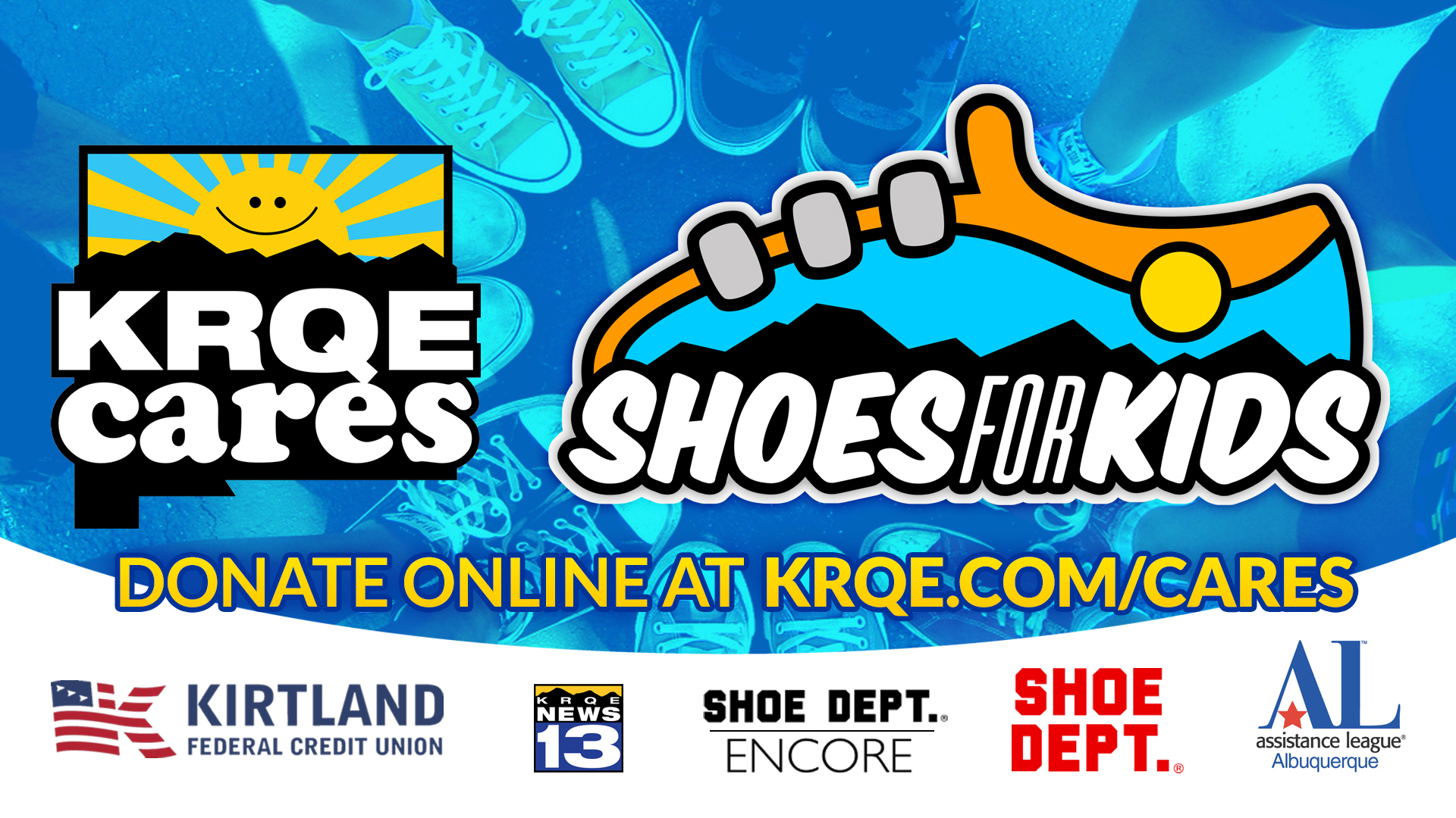 KRQE Cares Shoes for Kids | KRQE News 13