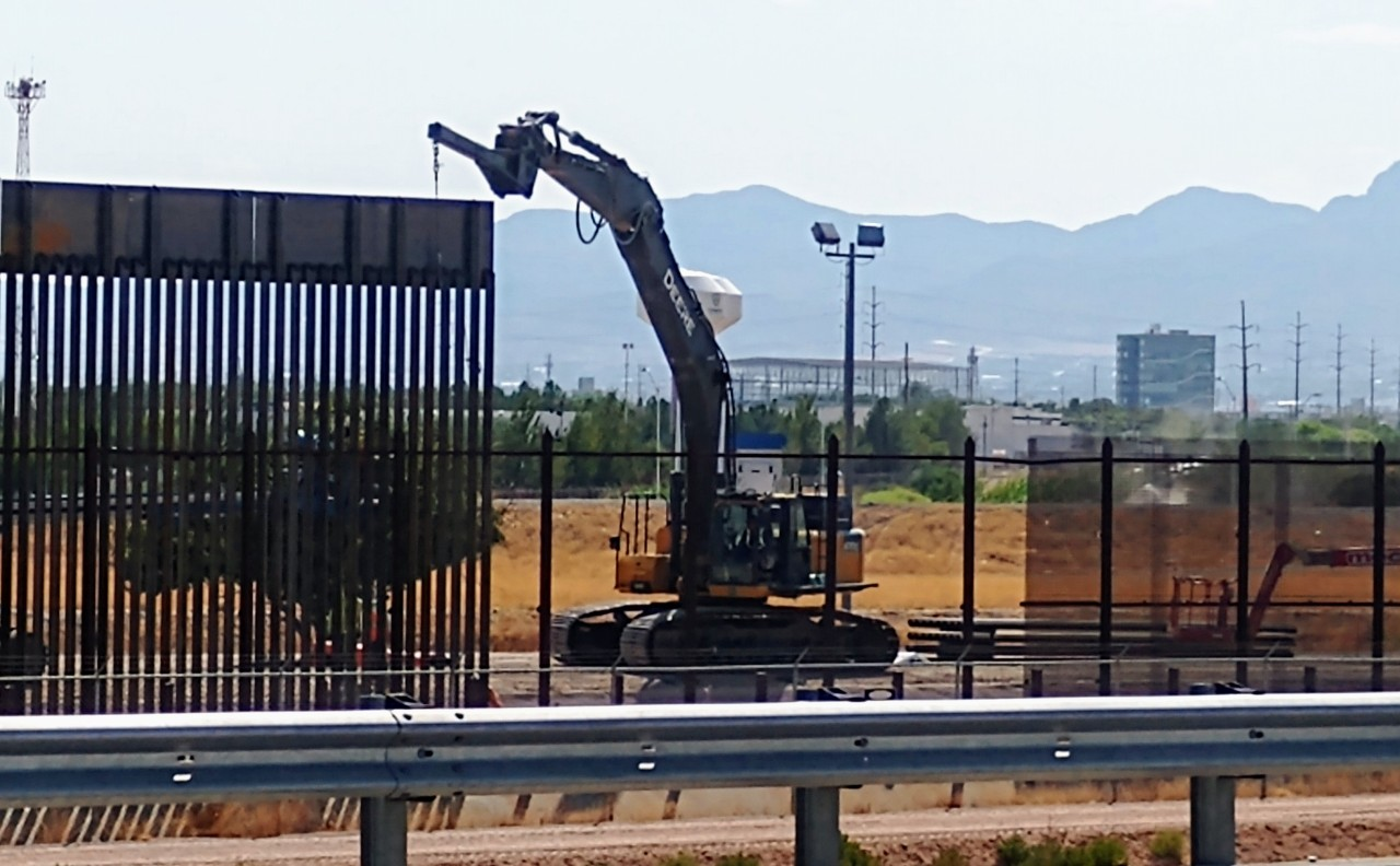 El Paso Sector getting 35 miles of new, upgraded border wall