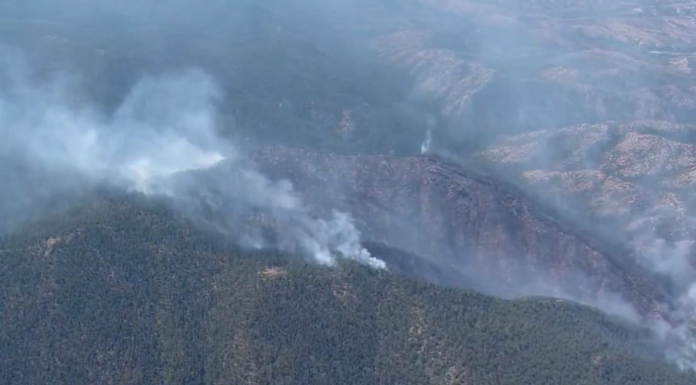 Burnout To Increase Smoke From Medio Fire In Santa Fe National Forest Krqe News 13