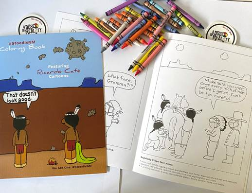COVID-19 coloring book for tribal communities
