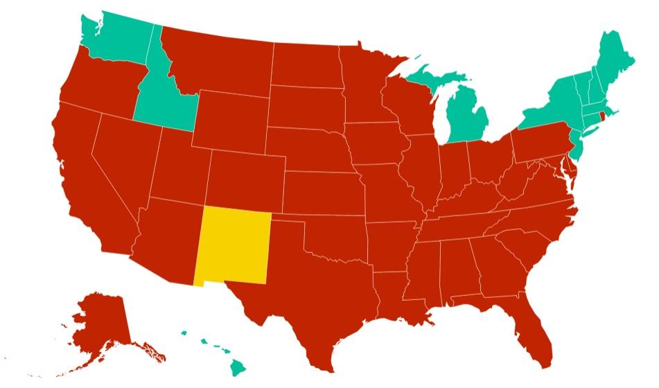 Gov Updates New Mexico Travel Order Lists States Requiring Quarantine Krqe News 13