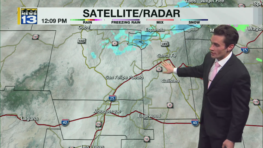 Connor's Monday Afternoon Forecast