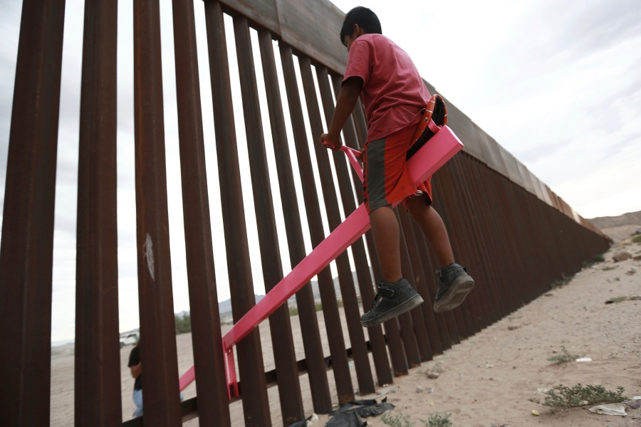 Mexico Wall Seesaw
