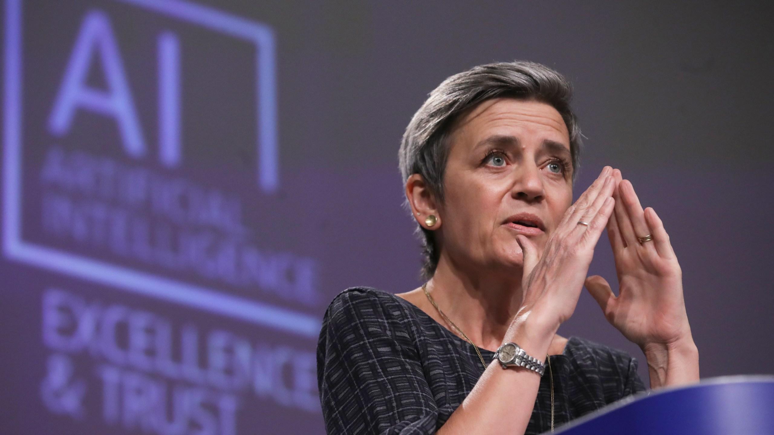 EU Commission presser artificial intelligence