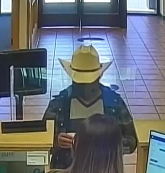 Suspect in cowboy hat robs Los Lunas bank