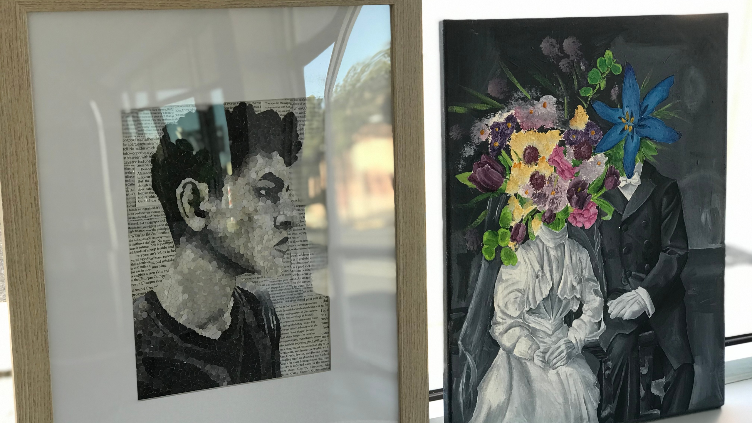 Visionaries Group Art exhibit