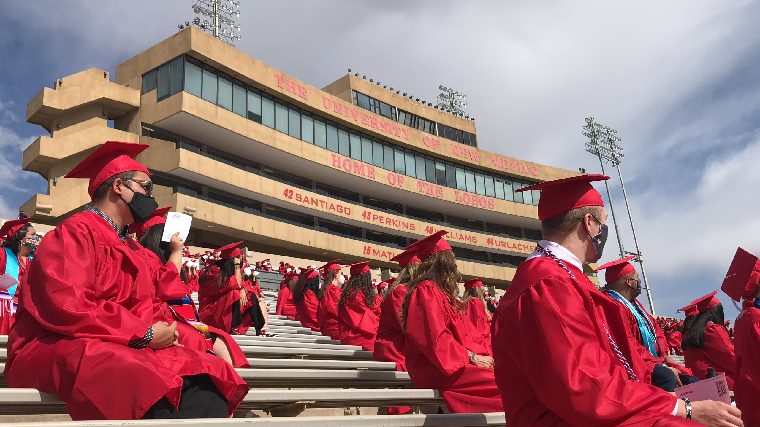 UNM holds graduation, Expo Flea Market begins, artists honored by APD