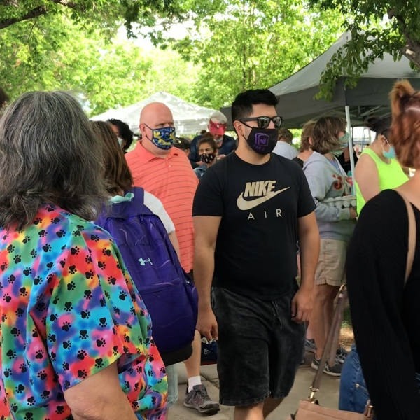 Albuquerque sees more events now that most of the state is at Turquoise Level