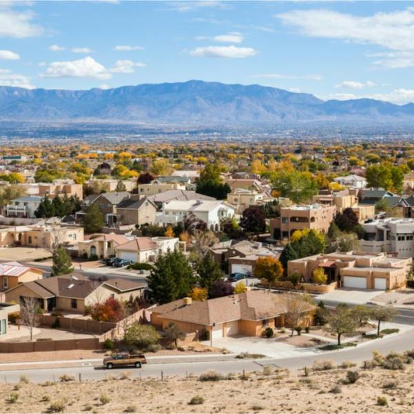 Fastest-growing counties in New Mexico