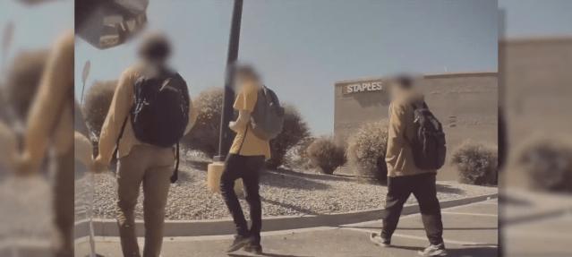Teen caught on camera keying Albuquerque man's Tesla